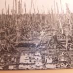 枯葉剤の被害~ベトナム戦争資料館の展示より