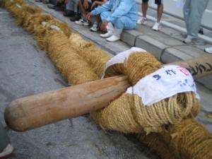 2011年 渡嘉敷島の大綱引き